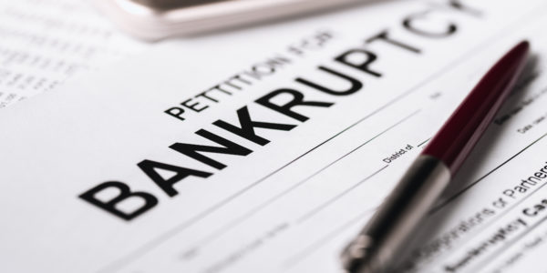 Pettition for bankruptcy